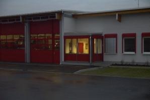 Raffstoren Feuerwehrgebäude